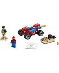 LEGO Super Heroes Pókember és Sandman leszámolása 76172 - 2. Kép