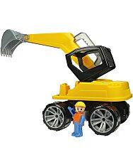 LENA: Markoló sofőrrel – 44 cm, sárga - 2
