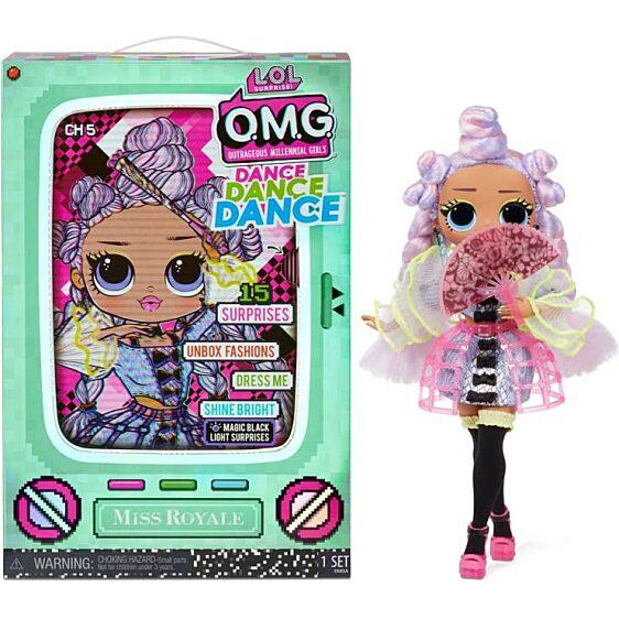 LOL Surprise OMG Dance Doll táncos babák - Miss Royale 1