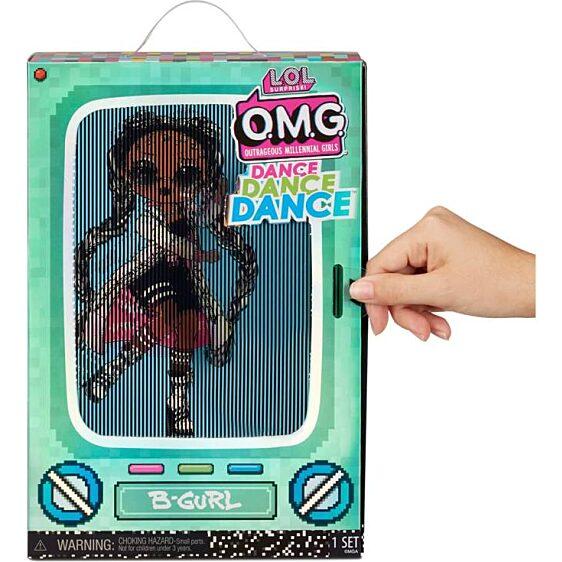 LOL Surprise OMG Dance Doll táncos babák - Miss Royale 4