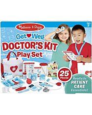 Melissa & Doug Szerepjáték, Gyógyulj meg doktor játékkészlet