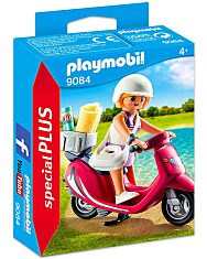 Playmobil: Lány robogón 9084 - 1