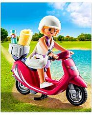 Playmobil: Lány robogón 9084 - 2
