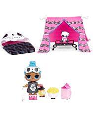 L.O.L Surprise Furniture 3. széria : Sleepover játékszett, babával és bútorokkal - ottalvós buli 2