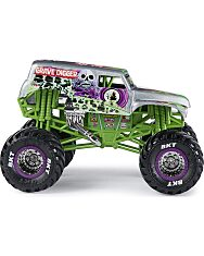 Monster Jam: Grave Digger Kisautó - 1:24 - 3. Kép