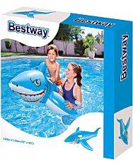 Bestway 41032 Fehér cápa lovagló - 185 x 102 cm - 1. Kép