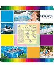 Bestway 62091 Öntapadós javítókészlet - 10 darabos - 1. Kép