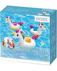 Intex 57506 Unikornis pohártartó 3 db - 41 x 20 cm - 1. Kép