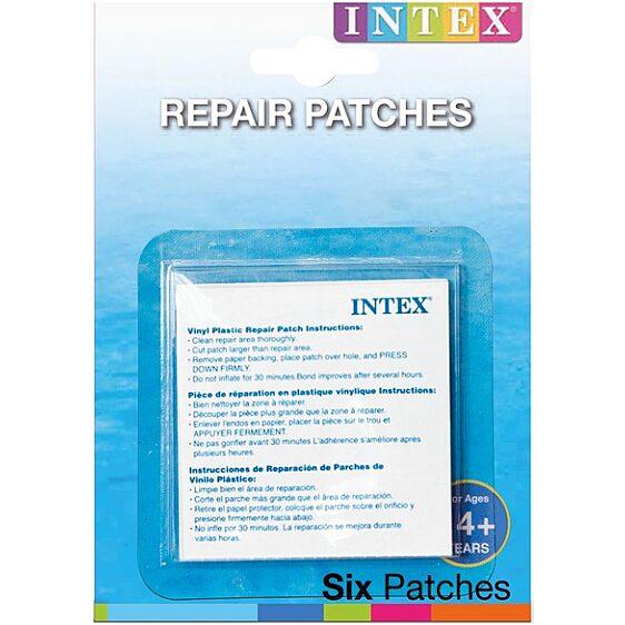 Intex 59631 Strandjáték javító öntapadós készlet - 1. Kép