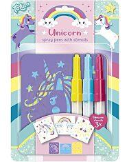 Unikornis festékszóró toll készlet - 1. Kép