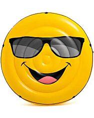 Intex 57254 Smiley sziget matrac - 173 x 27 cm felfújva