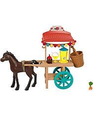 Szilaj Karneváli pavilon pónival játékszett – finomságokat szállító kocsi 2