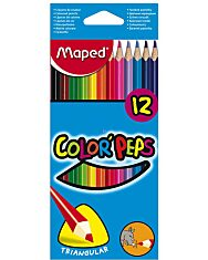 MAPED: Színes ceruza készlet - háromszög alakú