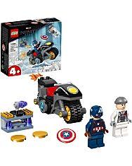 LEGO Super Heroes: Amerika Kapitány és Hydra szemtől szembe 76189 - 1. Kép