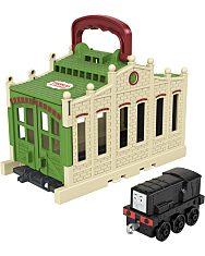 Thomas a gőzmozdony: Összeépíthető pályaszett - Diesel - 1. Kép