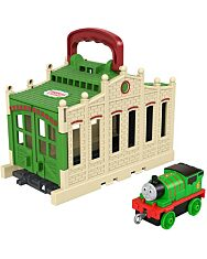 Thomas a gőzmozdony: Összeépíthető pályaszett - Percy - 1. Kép