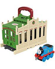 Thomas a gőzmozdony: Összeépíthető pályaszett - Thomas - 1. Kép